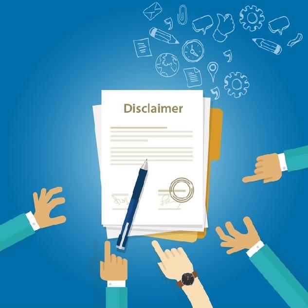Eine Rechtssichere Disclaimer Vorlage Für Ihre Webseite Impressum